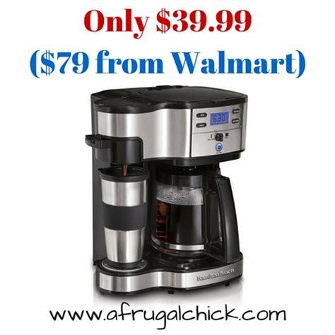 Amazon: Hamilton Beach Single Serve Coffee Maker with Full Pot Option Only $39.99!