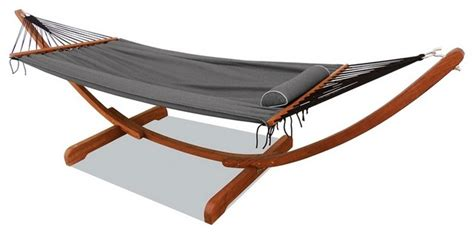 Patio Swing Bunnings Mimosa Curved Timber Framed Hammock Contemporary