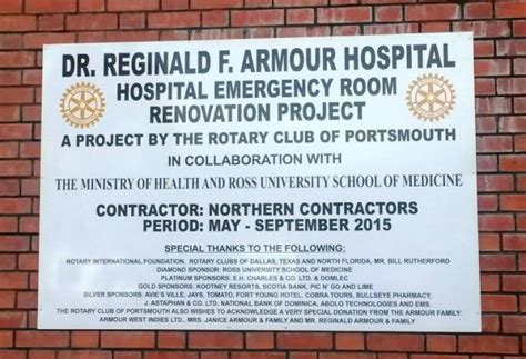 portsmouth regional hospital emergency room portsmouth s rfa hospital gets 180 000 upgrade dominica news
