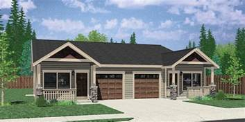 duplex plans that look like single family duplex house plans one level duplex house plans d 529