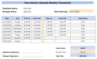 Employee Timesheet Templates by Doc 580630 Sle Payroll Timesheet Sle Payroll
