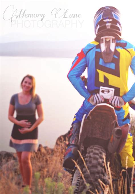baby motocross pregnancy announcement dirt bike life memory lane