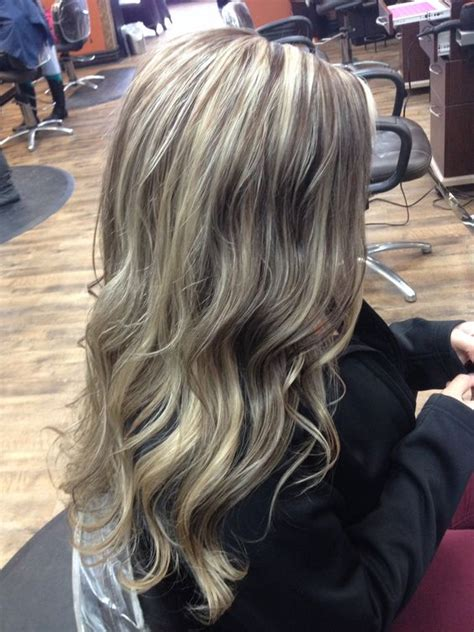 platinum highlights on dark brown hair pinterest the world s catalog of ideas