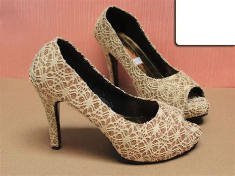 High Heels Wanita Krem T13 jual high heels gold sepatu jinjit hak tinggi krem