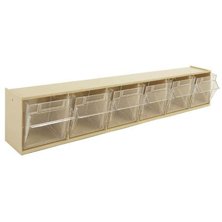 tilt and lock storage bins in small parts storage vstvb6 6 compartment modular tilt bin ideal for small