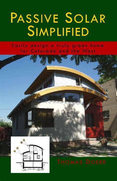 passive solar home design books book summary quot passive solar simplified quot design green home