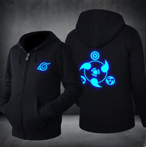 Jaket Anime Harakiri Akatsuki Black new anime hoodie jacket akatsuki luminous