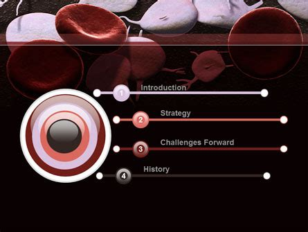 rbc cells powerpoint template by poweredtemplate com red and white blood cells powerpoint template backgrounds