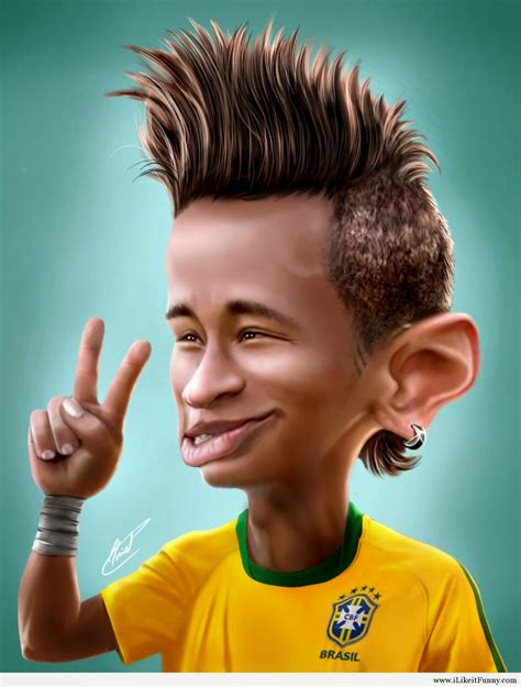 kumpulan karikatur lucu pesepakbola dunia