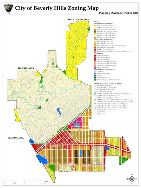 beverly hills parking map maps