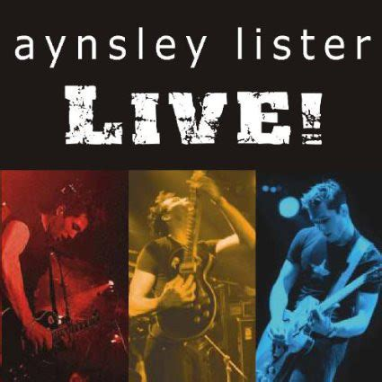 format live cd aynsley lister live cd album at discogs