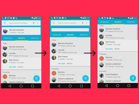 android material design layout exles top 10 reasons android l s material design will rock your