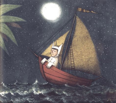 where the wild things are boat the modest peacock farewell maurice sendak