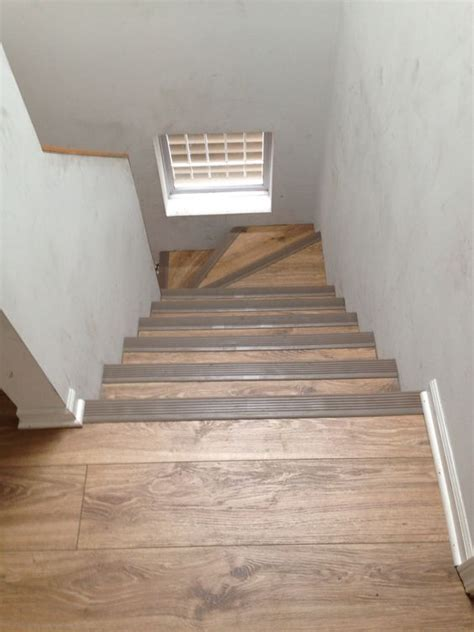 Laminate Flooring Stairs Laminate We Installed On The Stairs With Rubber Stair Nosing 773 447 7161 Laminate Flooring
