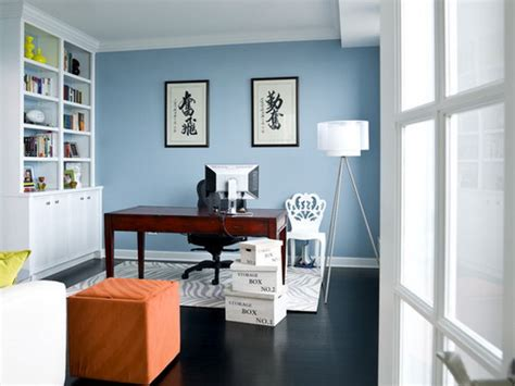 choose   home office color schemes home