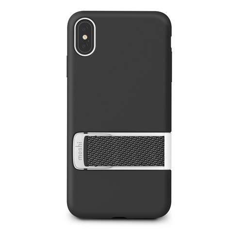 coque pour iphone xs max acheter une protection pour iphone capto noir de moshi