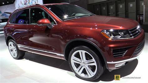 volkswagen touareg 2017 interior 2017 volkswagen touareg exterior and interior walkaround