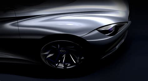 Infinity Auto Electric by Infiniti Teases Range Extending Electric Sports Car