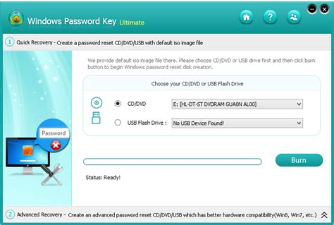 reset password windows xp via usb windows xp password recovery usb flash drive