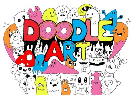 doodle colored name doodling doodle coloring pages for adults justcolor