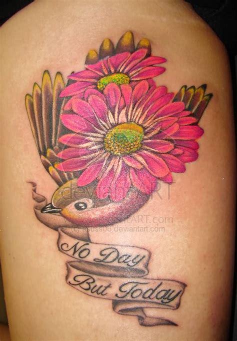 gerber daisy tattoo designs images designs