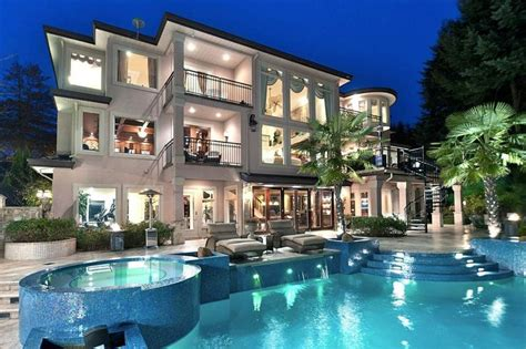 amazing mansions gorgeous backyard pool and amazing house my dream home