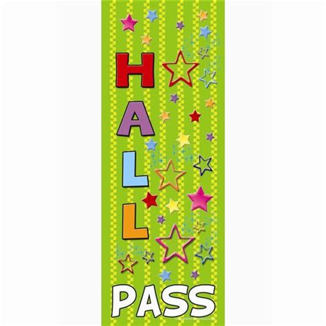 hallway pass hall pass ticket images