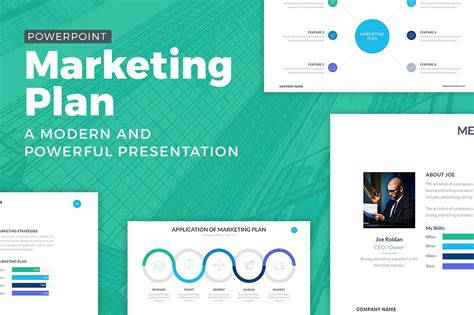 Marketing Plan Powerpoint Template Powerpoint Templates Creative Market Product Selling Website Template