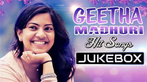 sridevi telugu hit songs jukebox geetha madhuri singer hit songs jukebox telugu