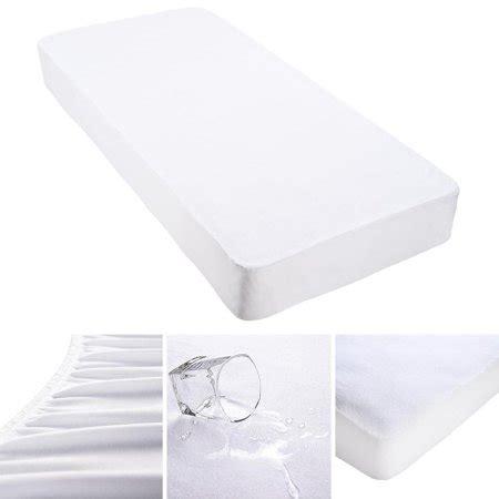 dust mite free mattress protector yescom cotton terry mattress protector waterproof vinyl