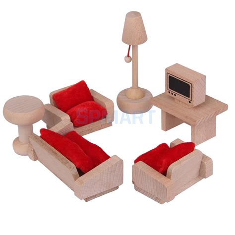 dolls house furniture set popular wooden dollhouse furniture sets buy cheap wooden dollhouse furniture sets lots