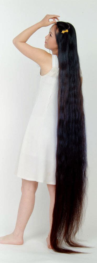 very long floor length hair floor length hair long hair girls pinterest