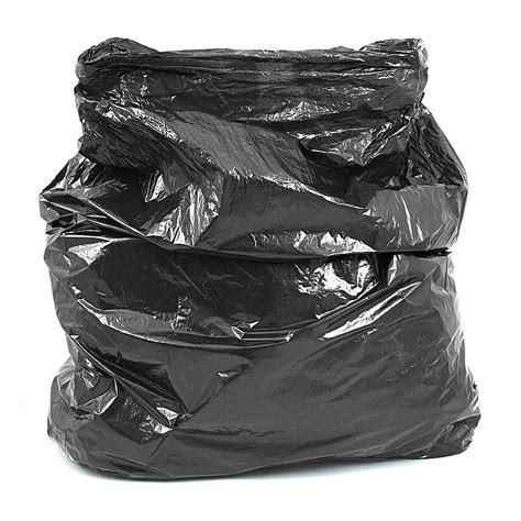 Bin Bag by Strong Black Refuse Sack Bin Bags Boxed Per 200 Refuse