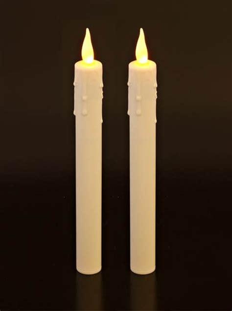 candele led ricaricabili velas largas el 233 ctricas 25cm paquete de dos 19 99