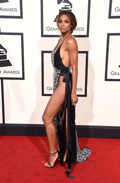 High Shopping Awards The Best And Worst Looks by Ciara Photos Grammys 2016 Best And Worst Carpet