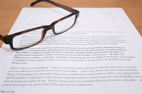 how to write a well written cover letter 4 steps with