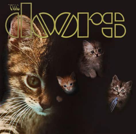 Lp Kity kitten kittens the doors album covers the kitten covers the doors self titled debut lp