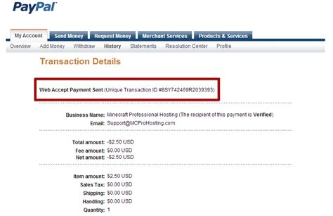Search Paypal How To Find Your Paypal Transaction Id Knowledgebase