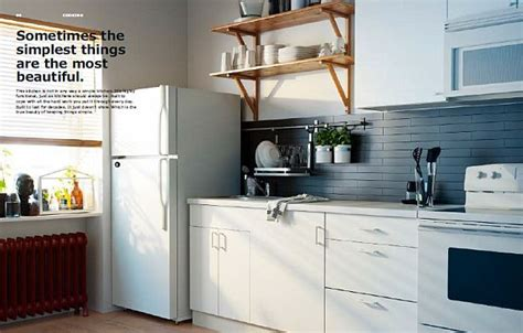 kitchen design catalog ikea 2013 catalog simple white kitchen design