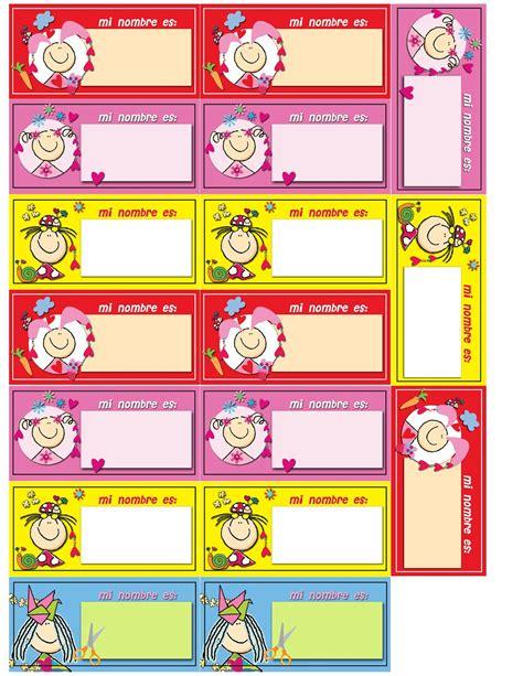 imagenes etiquetas escolares marcos gratis para fotos etiquetas para identificar