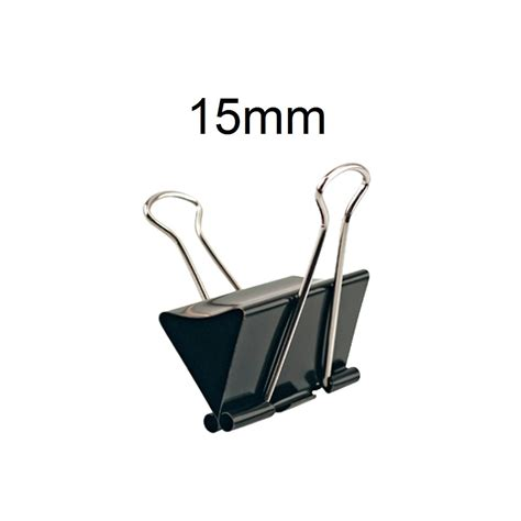 Binder Clip 155 1 Pak 12 Pc binder 15mm pack of 12 q8supply kuwait s store for pos software hardware