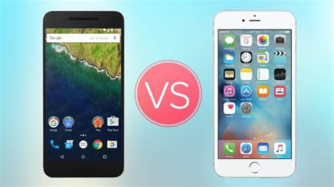 iphone versus android android vs iphone android vs ios which is best computertechtimes