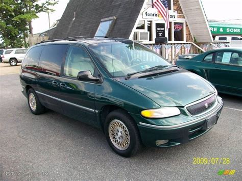 1996 Chrysler Town And Country Lxi by 1996 Forest Green Pearl Chrysler Town Country Lxi