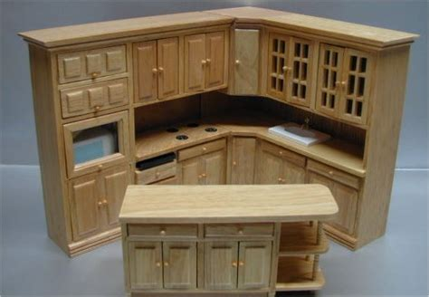 dollhouse kitchen furniture appliances from fingertip fantasies dollhouse miniatures