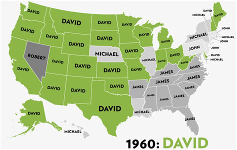 map of america with names here s your changing u s map of the most popular