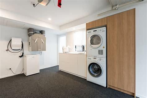 Laundry In Garage Designs garage laundry room design