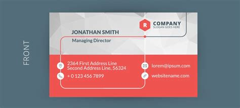 free business card templates 18 best free business card templates graphicloads