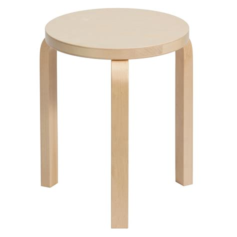 A Three Legged Stool by Artek Alvar Aalto Stool 60 Three Legged Stool Birch