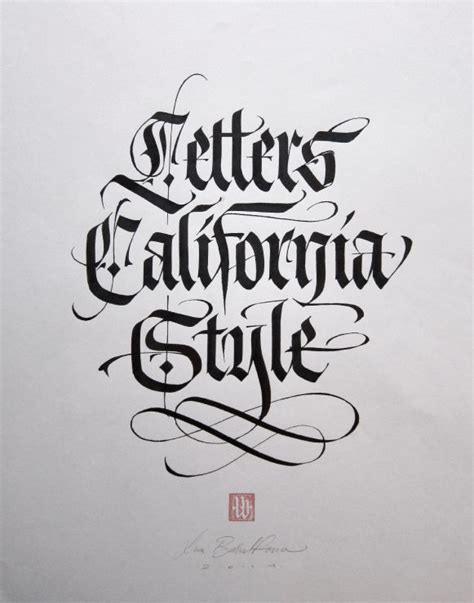 California Style Lettering luca barcellona letters california style widewalls