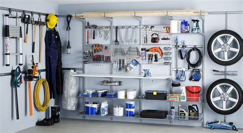 Elfa Garage Shelving Designing For An Organized Garage Part 2 Using The Walls